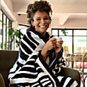 Artist-Designed Knitted Blanket - 'Americanah' image