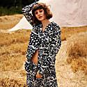 Leopard Navy Long Set - 100% Organic Cotton image