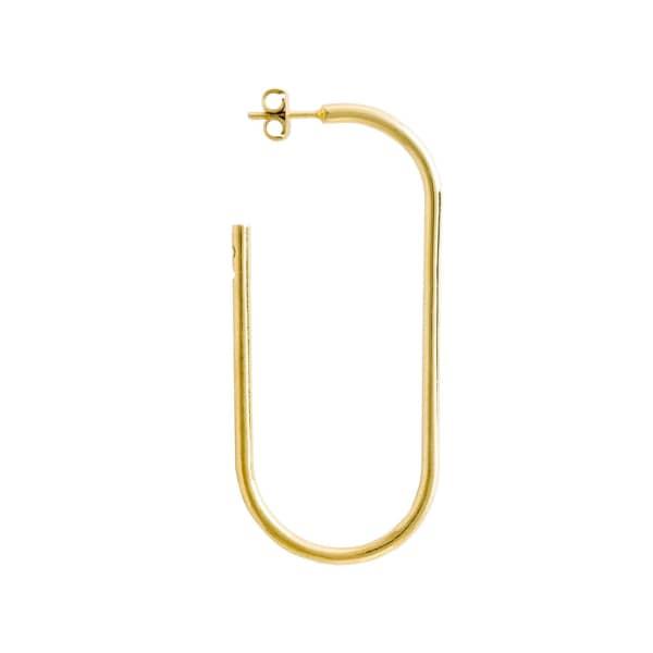 GLENDA LOPEZ The XXL Golden Link Earring