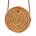 Camilla Rattan Bag - Palm Leaf image