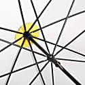 British City Slim Umbrella Grey & Yellow image