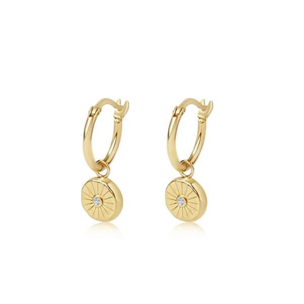 EDGE OF EMBER Lumina Charm Earrings