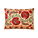 Colosseum Daisy Suzani Ikat Silk Double Sided Heritage Design Cushion image