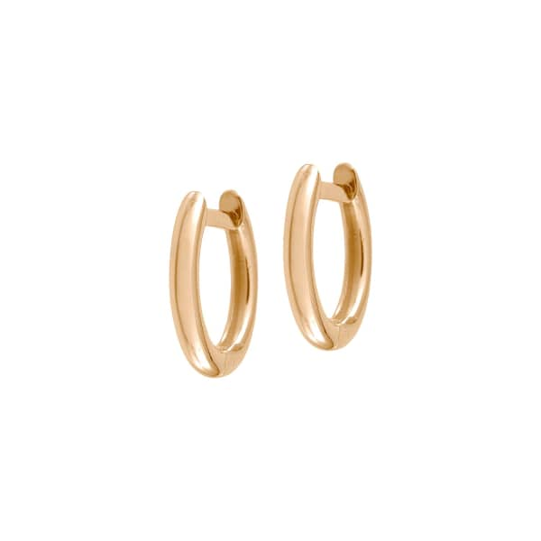 JEZEBEL LONDON Plain Millennium Hoop Earrings