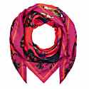 Square Scarf In No Place Like Home Print Hot image