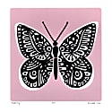 Butterfly Print in Powder Pink image