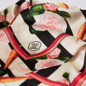 Large Carrots & Roses Silk Without Borders Scarf image