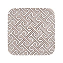 Maze Truffle White Square Tray image