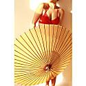 Versatile Geranium Bikini Top image