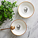 Skull Bone China Bowl image
