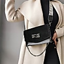 Perla Shoulder Bag Black image