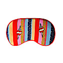 Kansas Stripe Silk Eye Mask In Gift Box image