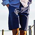 Turtle Bermuda Shorts In Navy image