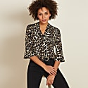Abigail Top In Leopard Print image