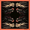 Jellyfish Silk Scarf image