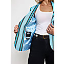 Blue Striped Sporting Jacket image