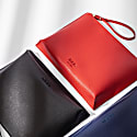 Hoxton Clutch - Red Coral image