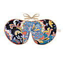 Pure Mulberry Silk Lavender Eye Mask Ashina Liberty Print image