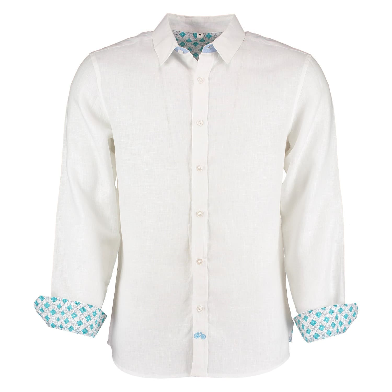 4c3a3490493bd Karnataka White Linen Shirt image