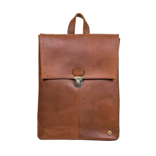 Mahi Leather Minimalistic Leather Yale Backpack