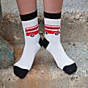 Cream London Bus Women's Socks image