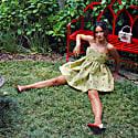 Strawberry Babydoll Mini Dress image