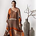Kaftan Dress In Geometrical Print Athene image