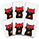 Flash Cat Cards Pack Of 6 image