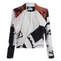 Babushka Print Jacket image