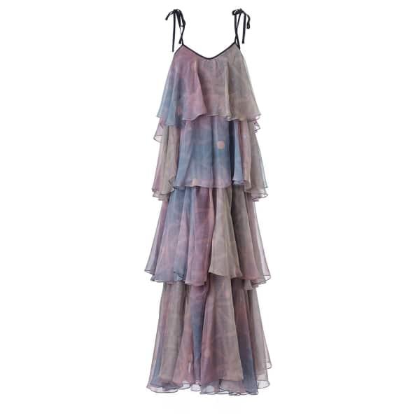 SUPERSWEET X MOUMI Rodanthe Dress Pearldrop