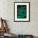 Alone A4 Art Print image