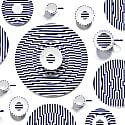 Richard Brendon Meets Patternity Warp Platinum Espresso Cup & Saucer image