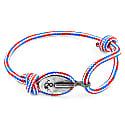 Project-Rwb Red White & Blue London Silver & Rope Bracelet image