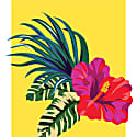 Tropical Flowers Illustration image
