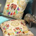 Festival Large Silk Cushion image