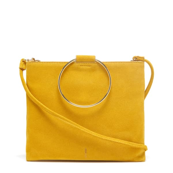 THACKER NEW YORK Le Pouch in Soleil Suede