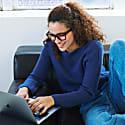 Laurel Blue Light Glasses Black image