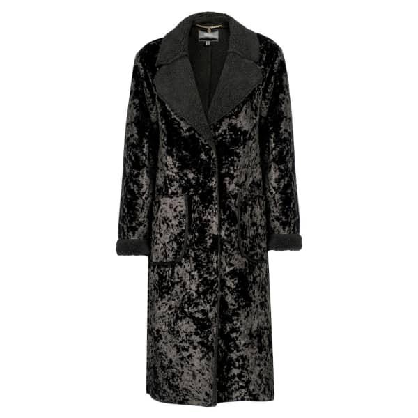 NISSA Elegant Ecological Fur Coat