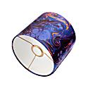 Sapphire Marbled Silk Shade image