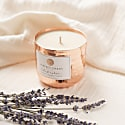 And Relax - Lavender, Rosewood & Jasmine Dimpled Copper Candle image