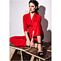 Zoe Jumpsuit Red image