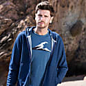 Irish Coast Wave T-Shirt Dark Blue image