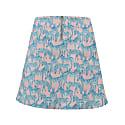 Zebra Flared Mini Skirt image