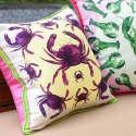 Crabs Silk Cushion image