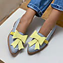 Grey & Yellow Bowie 2In1 Loafers image