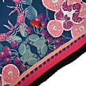 Cherry Punch Silk & Velvet Cushion image