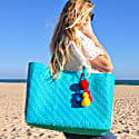 Lolita Recycled Plastic Beach Bag Baja image