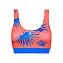 Ocean Coral Active Bikini Top image
