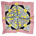 Chin Up Silk Scarf - Pink image