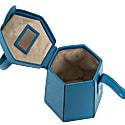 Mini Elif Hexagon Bag - Blue image